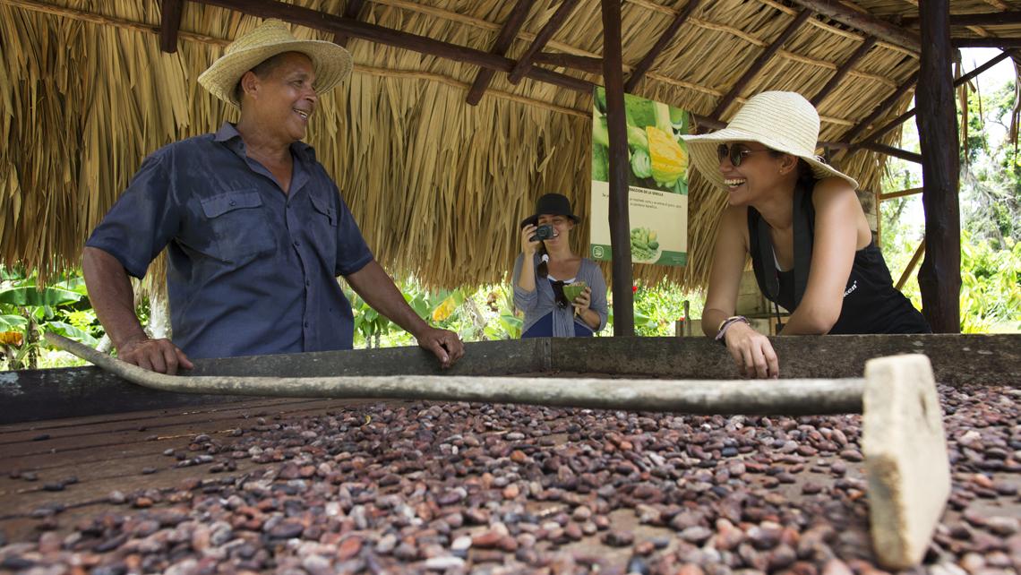 travel to cuba, coffee farm