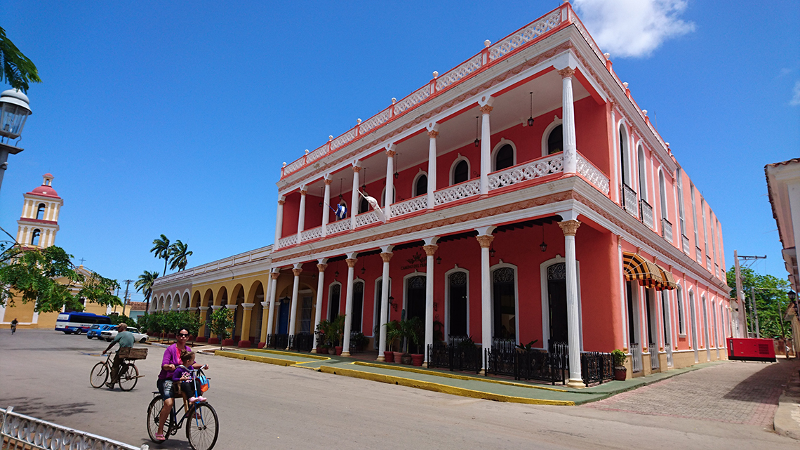 Remedios, colonial town in the centre of Cuba