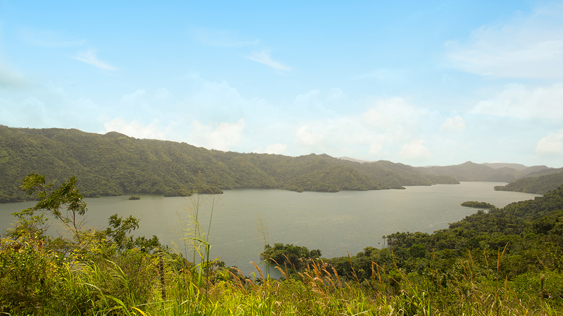 View of lake Habanabanilla