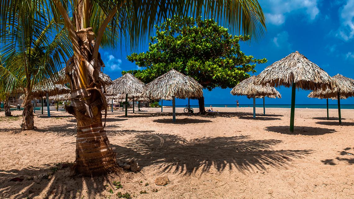 Ancon beach in Trinidad, Sancti Spiritus, Cuba