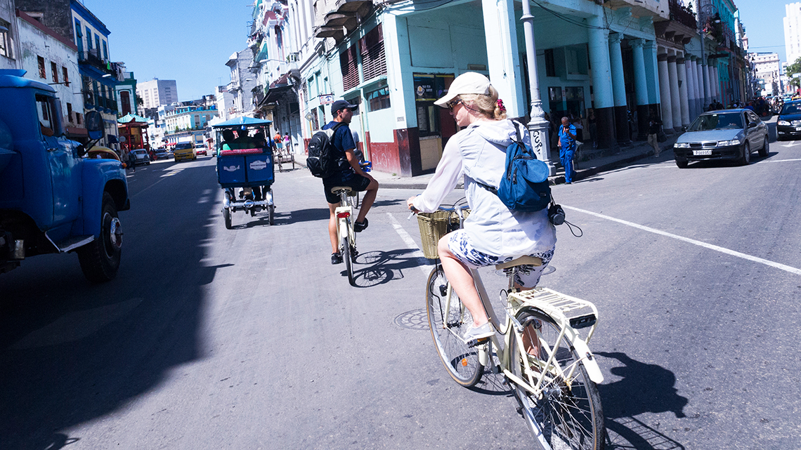 Cycling tours of Havana have recently became a popular way to explore the city