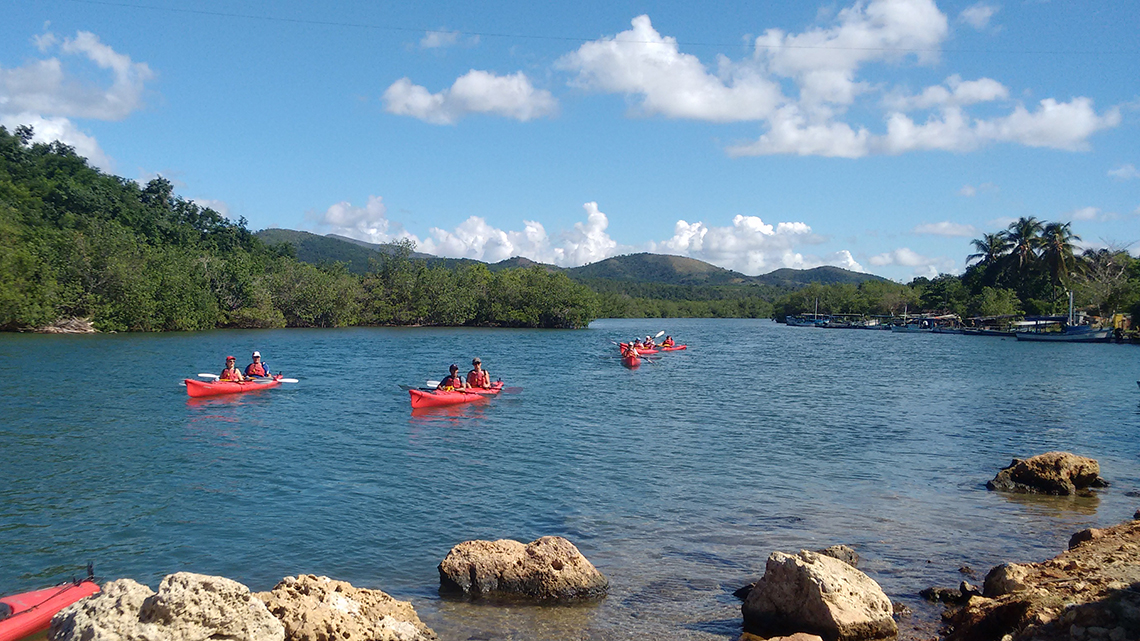 Lake Hanabanilla, a perfect place for a kayaking adventure in Cuba