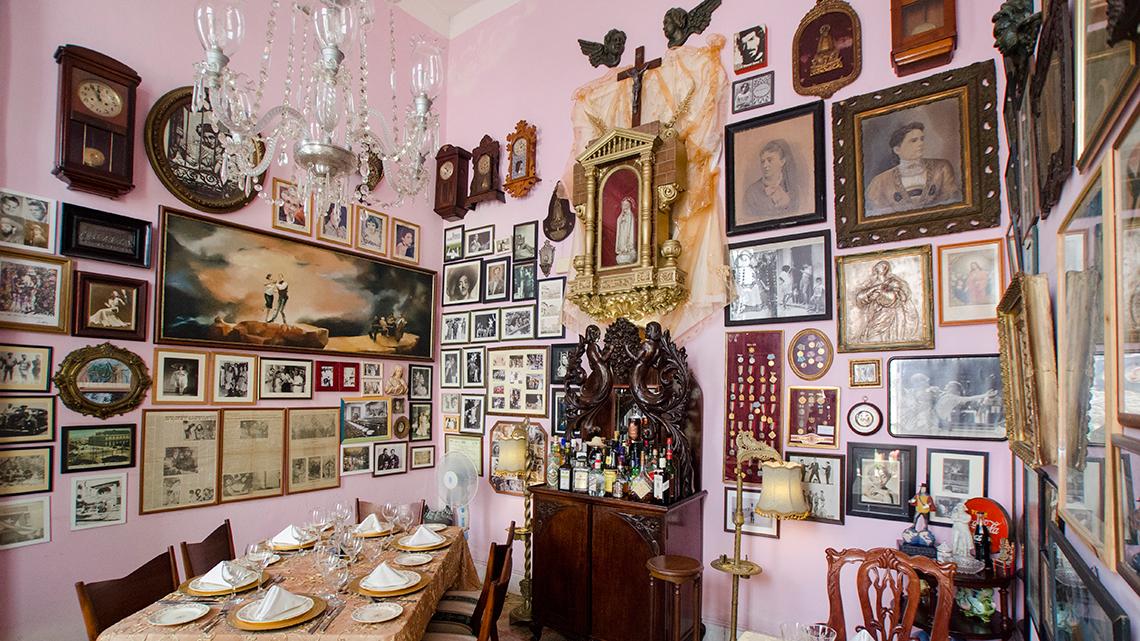 Paladar San Cristobal, nice restaurant near Havana's Parque Central