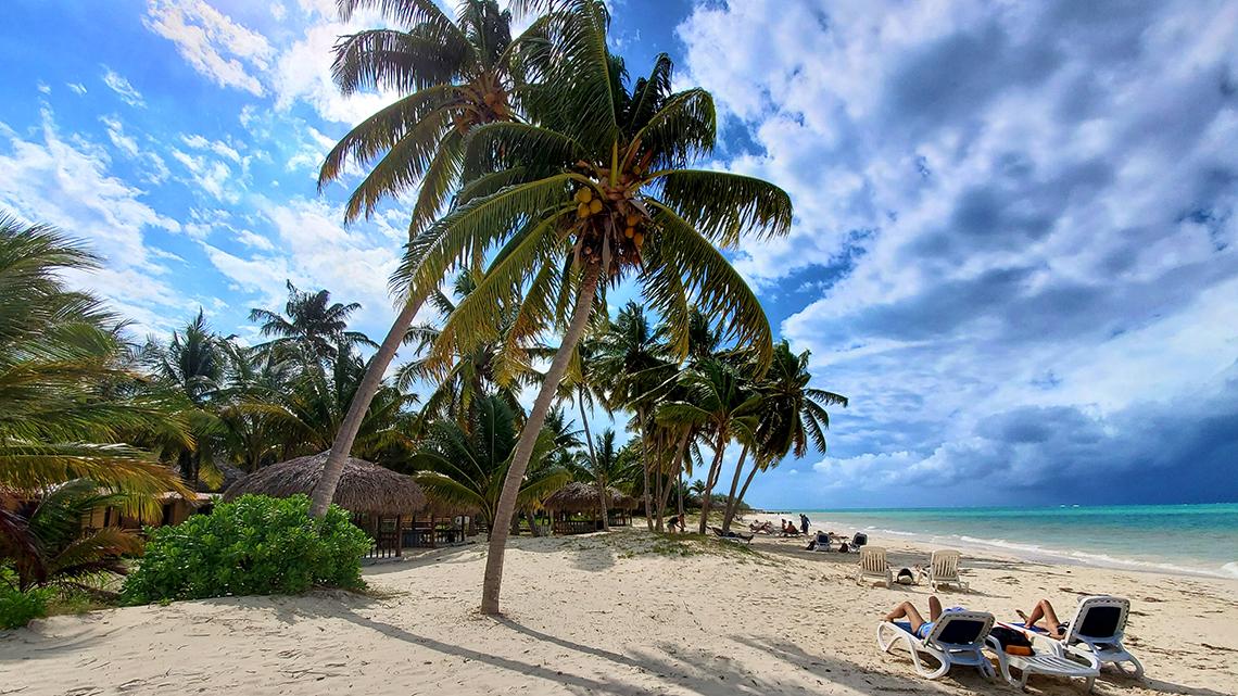 Cayo Jutias beach, just 60km away from Vinales