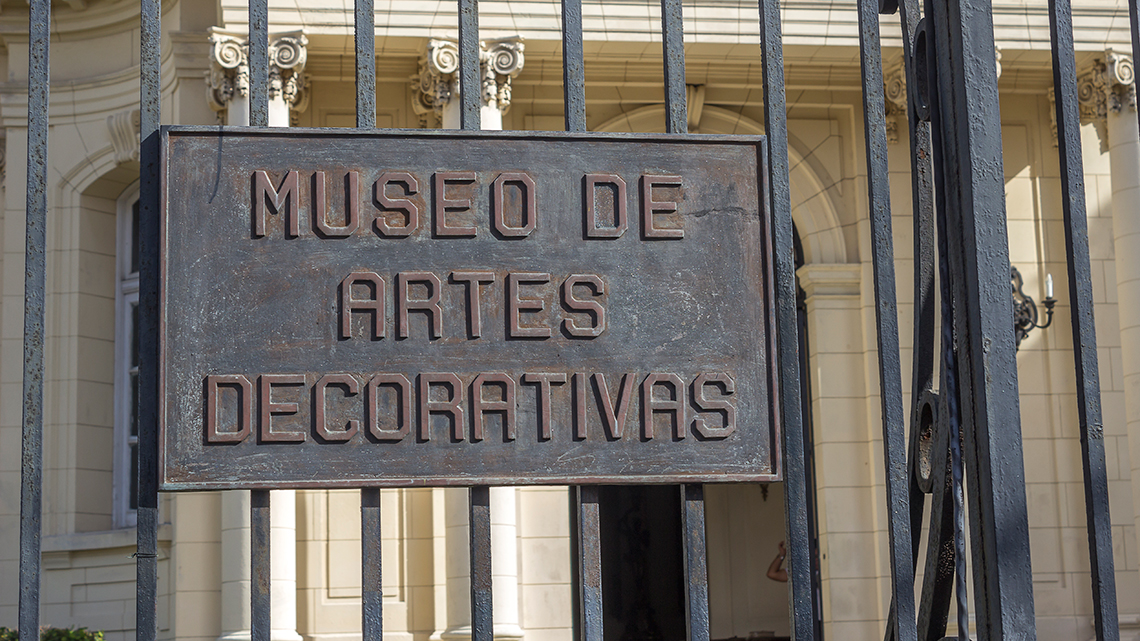Entrance of Museo de Artes Decorativas