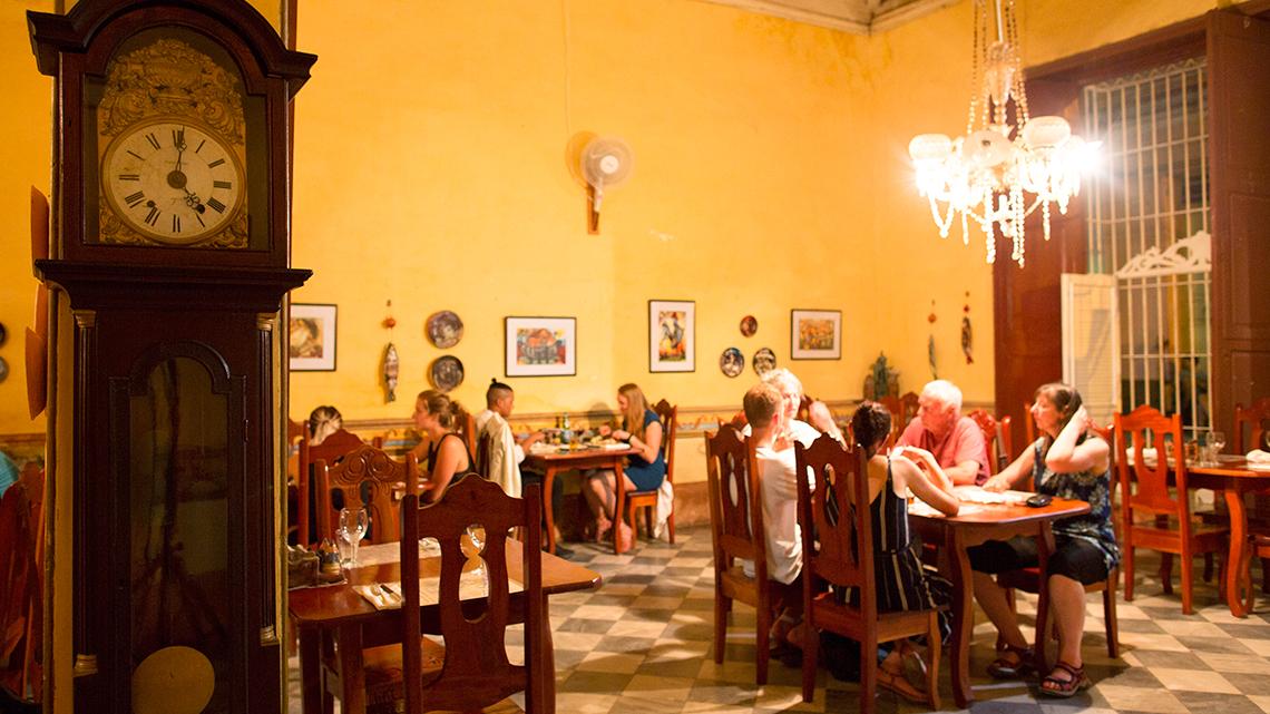 Paladar La Redaccion, one of the best restaurants of Trinidad