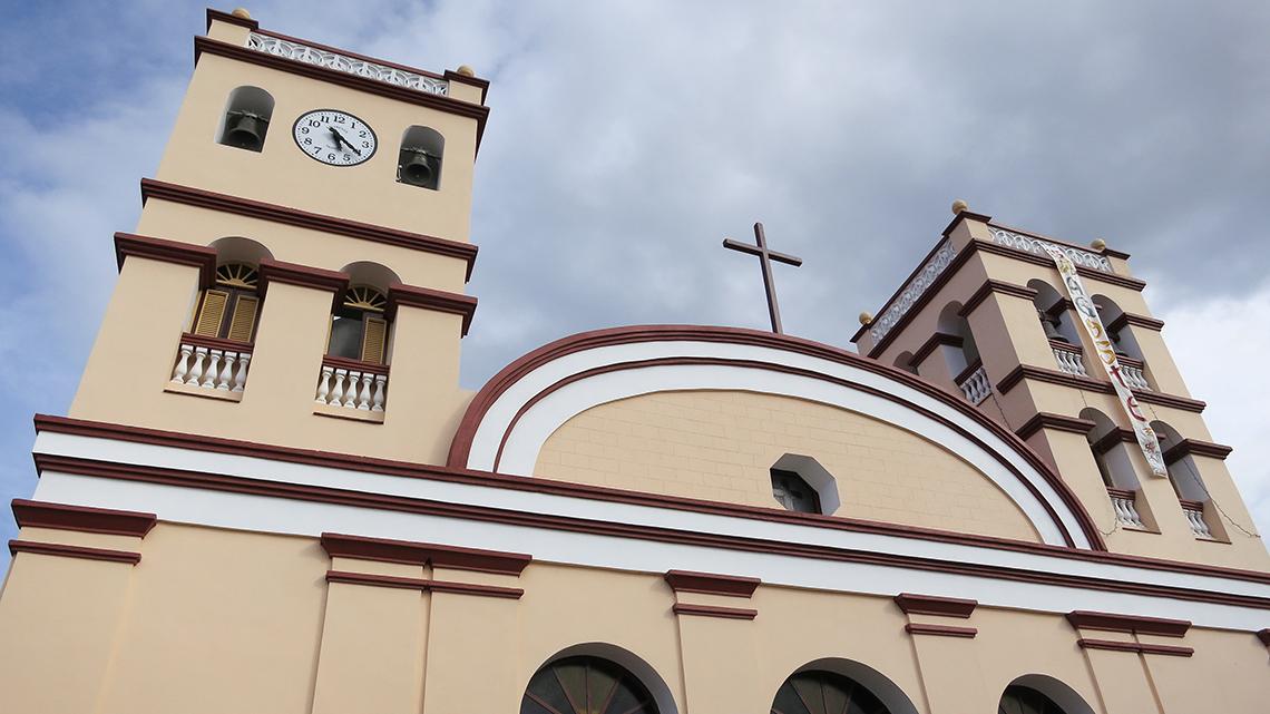 Main church of Baracoa, Iglesia Cruz de Parra