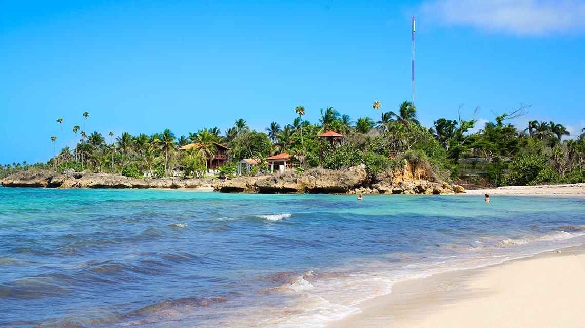 Maguana Beach, very near Baracoa