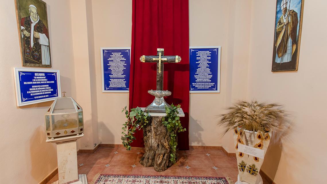 Holy Cross of the Vine in Iglesia Cruz de Parra
