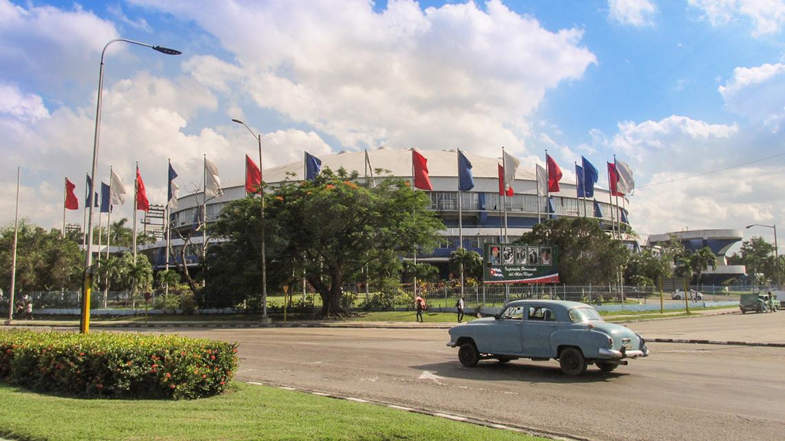 Palacio de los Deportes (Sports Palace)