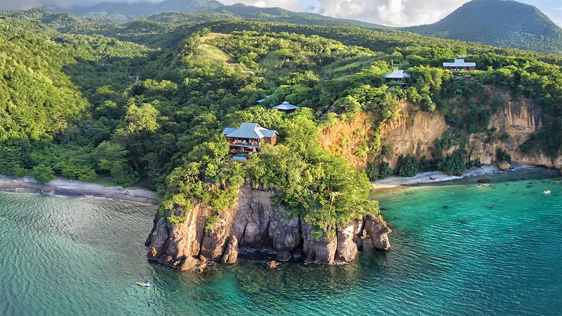 Secret Bay, Portsmouth, Dominica