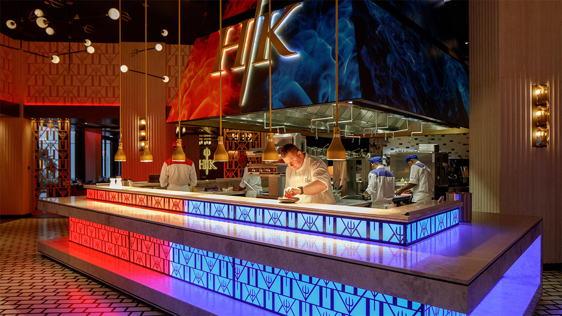 Hell's Kitchen Restaurant at Caesars Palace Bluewaters Dubai