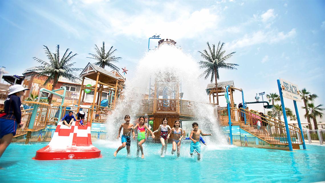 Laguna Waterpark at Caesars Resort Bluewaters Dubai